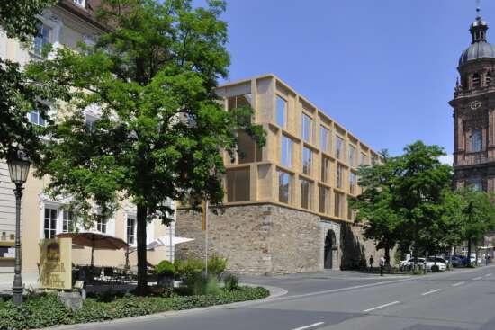 Hotel Rebstock Erweiterungsbau Außenansicht